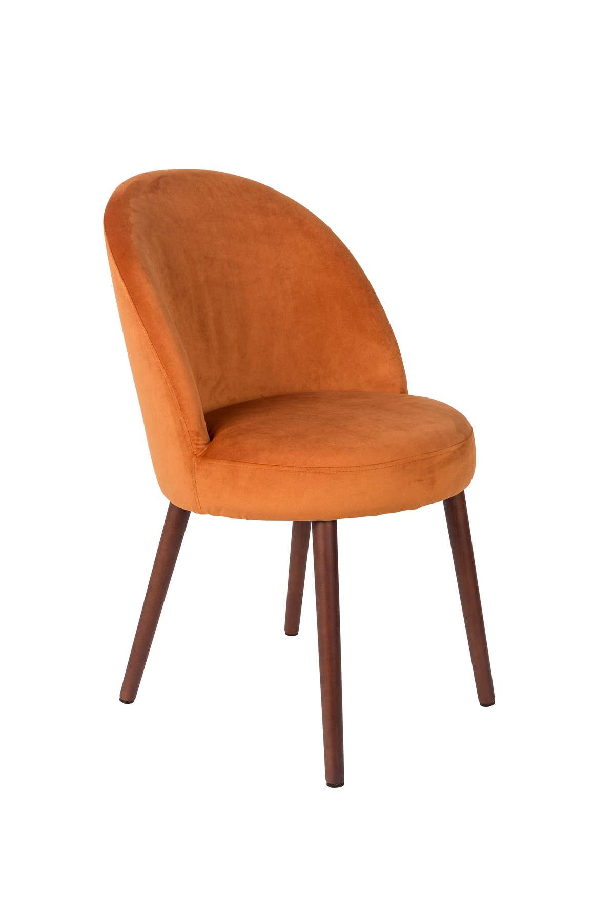 Krzesło Barbara pomarańczowe