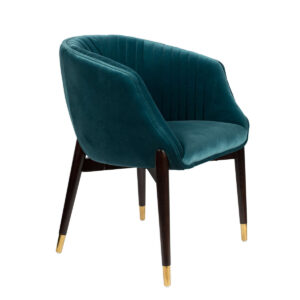 Fotel DOLLY niebieski