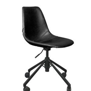 Krzesło biurowe Franky czarne