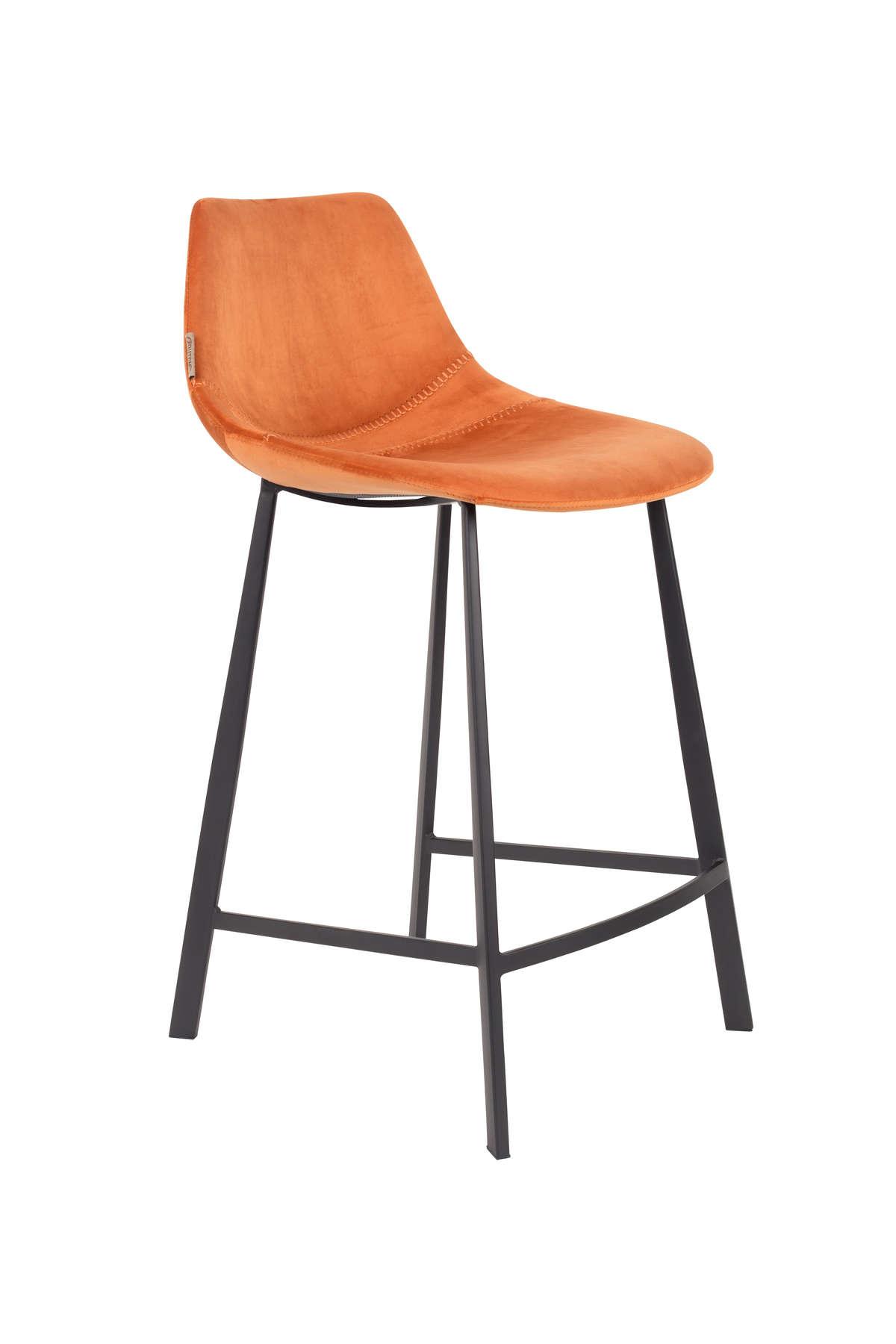 Krzesło barowe Franky pomarańczowe