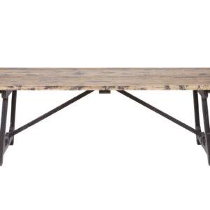 Stół do jadalni Craft, czarny, rozm. 220x90cm