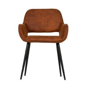 Krzesło jelle brązowe Set of 2