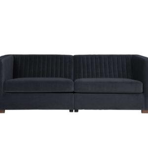 Sofa Nouveau L niebieska