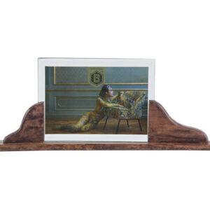 Ramka na zdjęcia Beloved ciemnobrązowa XL