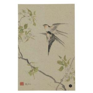 Plakat z papieru Swallows rozmiar XL
