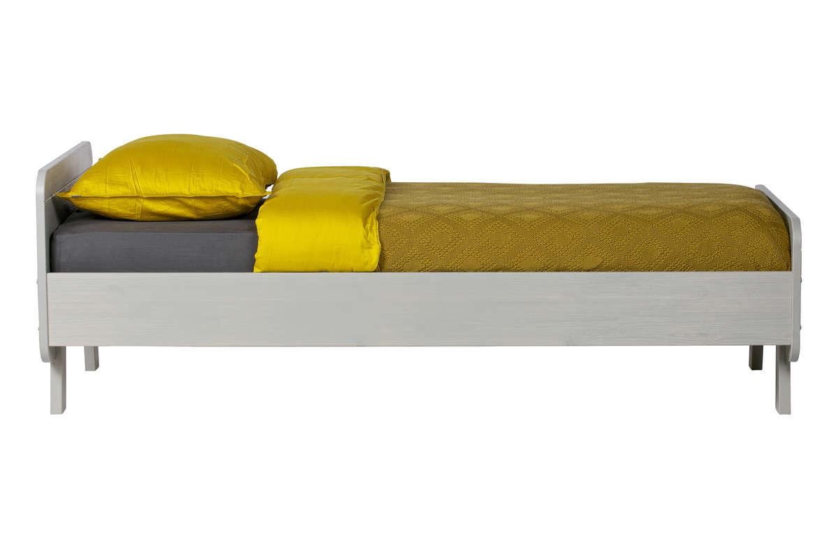 Łóżko Sammie khaki 90x200cm (bez listew)