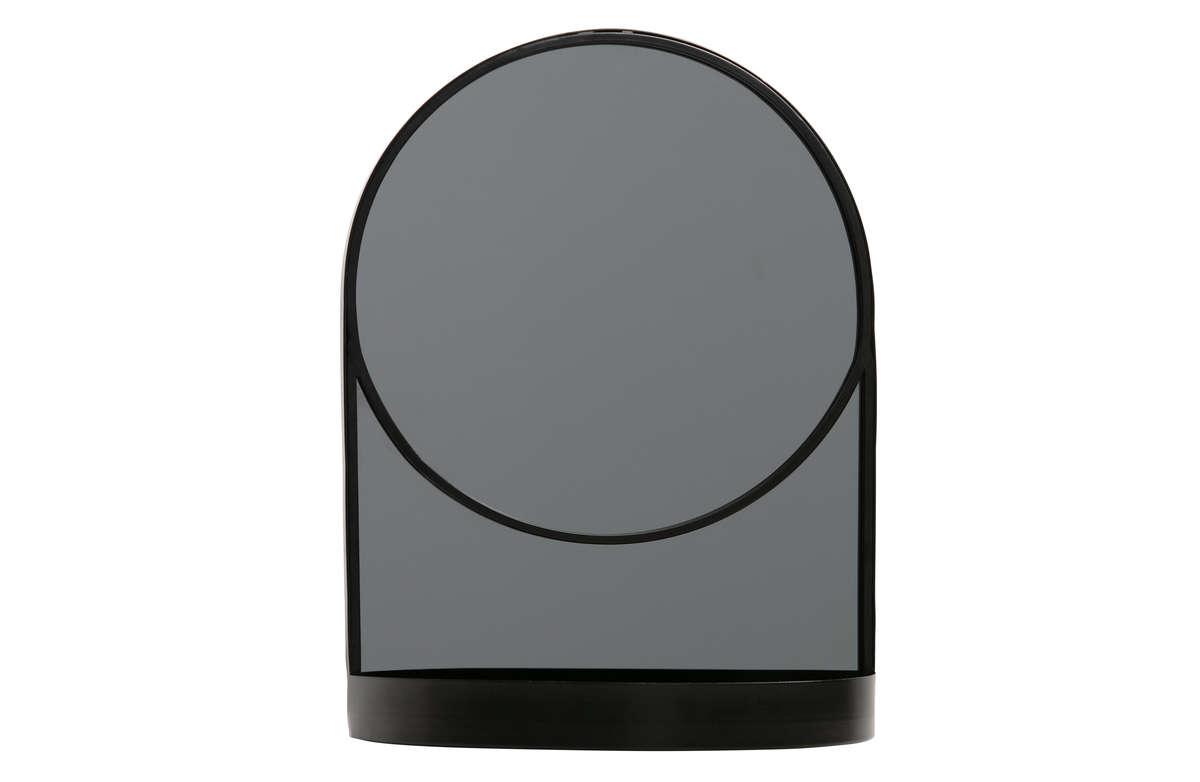Lustro MALIK metalowe czarne
