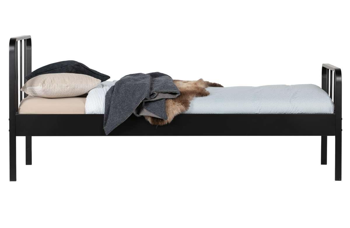 Łóżko Mees 90x200 cm czarne