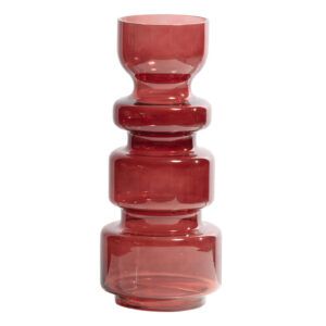 Wazon szklany Expressive kasztanowy 37xØ15