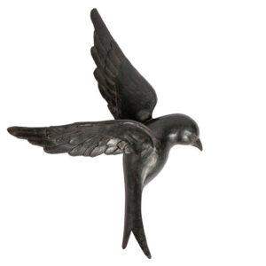 Dekoracja ścienna AVALER ptak XL czarny