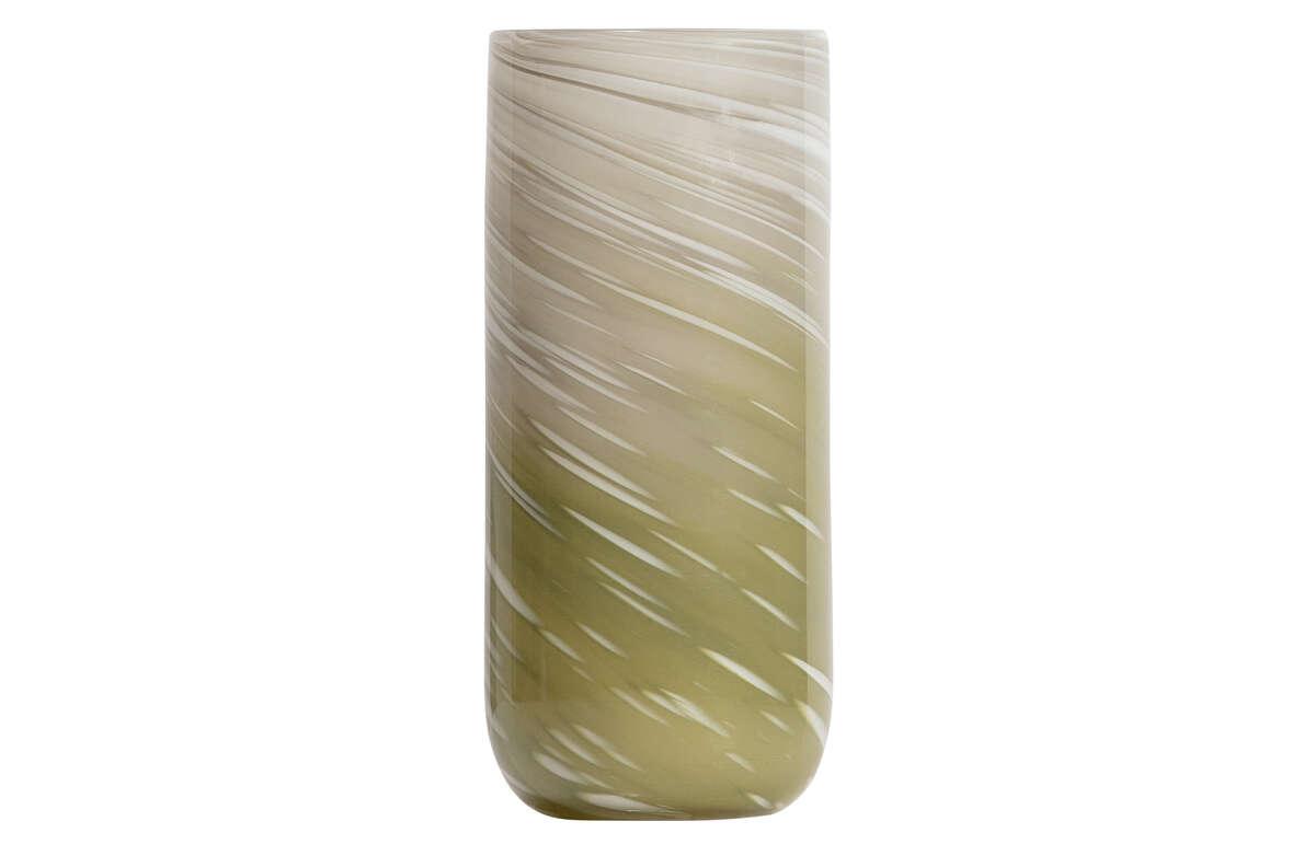 Szklany wazon Olan 29xØ13cm