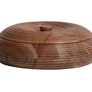 Pojemnik Vessel drewniany naturalny 7xØ20cm