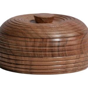 Pojemnik Vessel drewniany naturalny 6xØ11cm