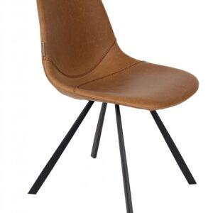 Krzesło FRANKY brązowe