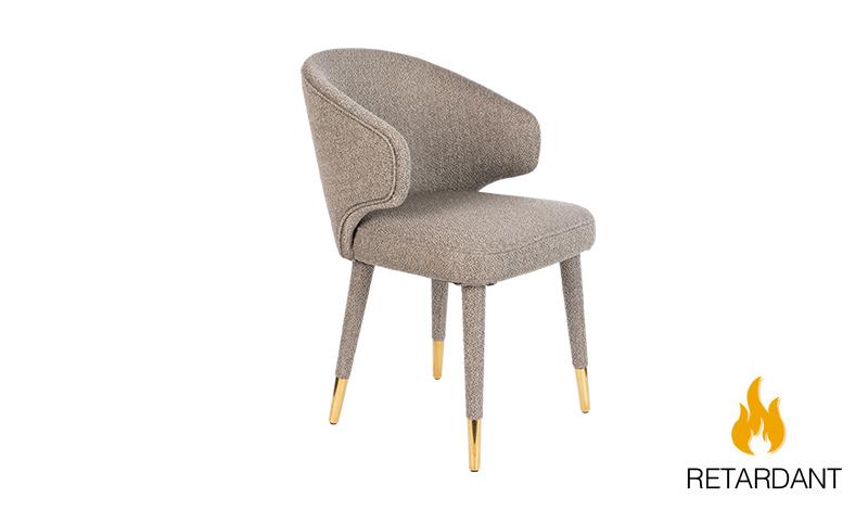 Krzesło LUNAR TAUPE FR