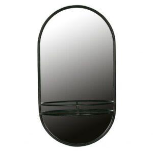 Metalowe lustro MAKE-UP czarny