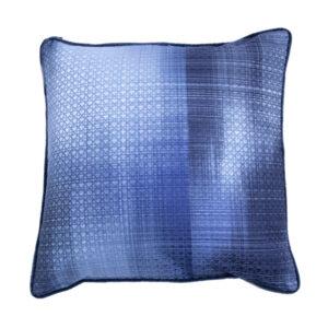 Poduszka BLUR  niebieski 55x55