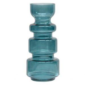 Szklany wazon EXPRESSIVE niebieski 37xØ15