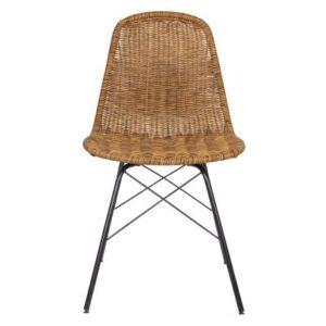Zestaw dwóch krzeseł naturalny