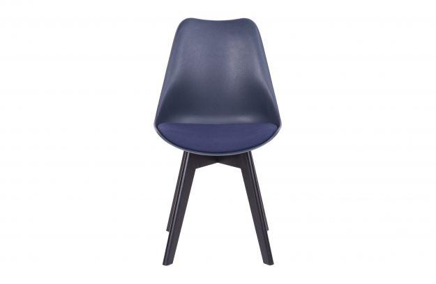 Krzesło do jadalni Set of 2 niebieskie
