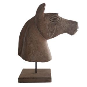 Dekoracja głowa konia