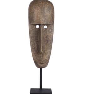 Rzeźba drewniana -maska duża 122cm