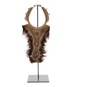 Dekoracja stojąca z muszli wysoka 72cm