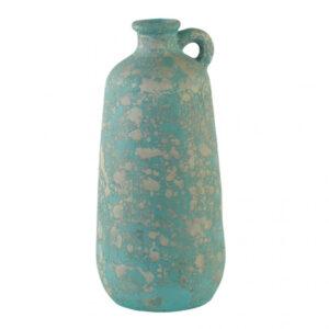 Dzbanek ceramiczny niebieski