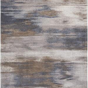 Szaro Beżowy dywan nowoczesny - GREY IMPRESSION 9122 - Rozmiar: 140x200 cm