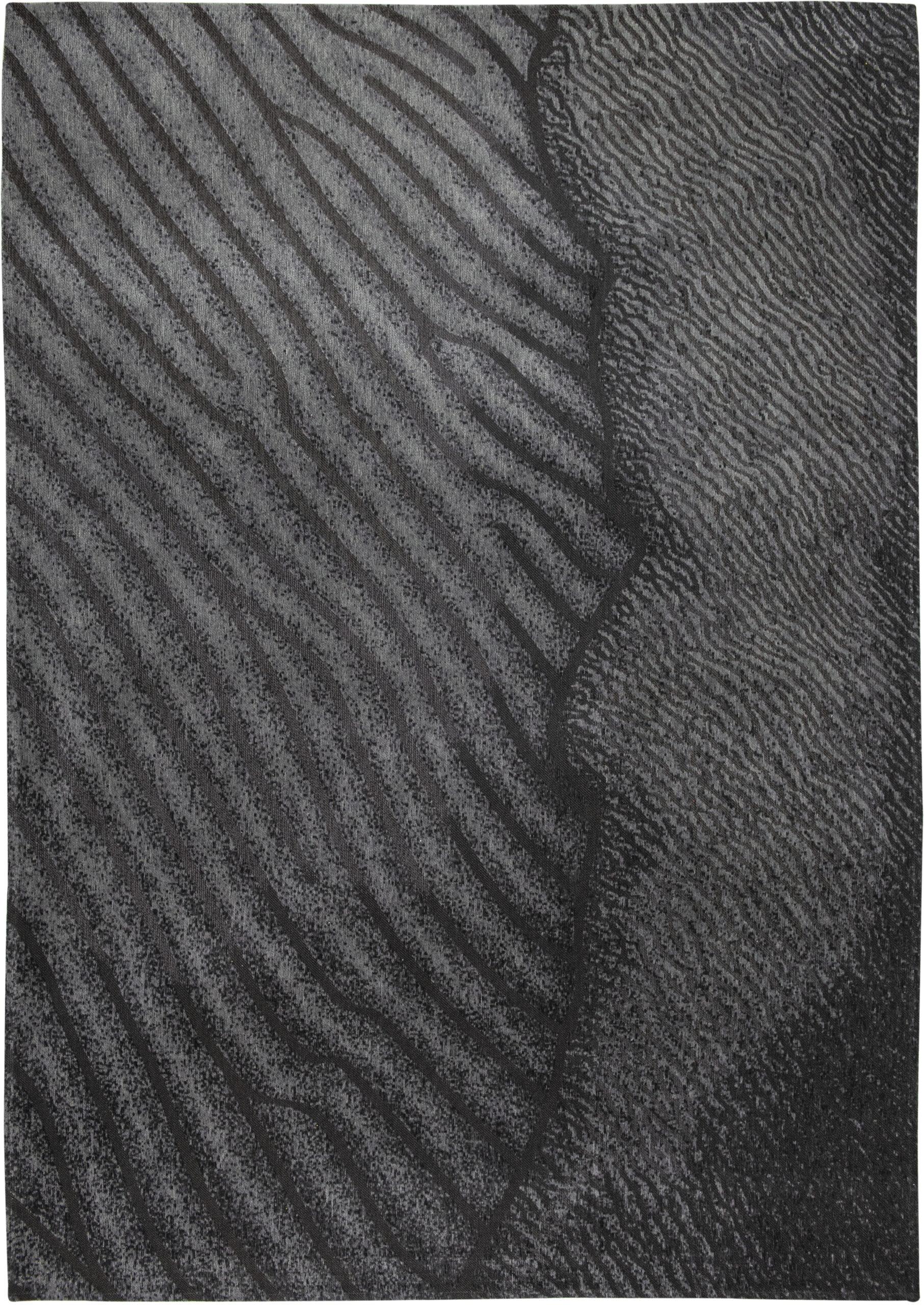 Nowoczesny Czarny Dywan - LOVINA BEACH 9136 - Rozmiar: 170x240 cm
