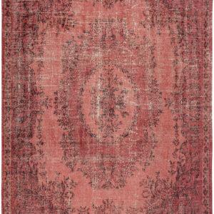 Czerwony Dywan Vintage - BORGIA RED 9141 - Rozmiar: 140x200 cm