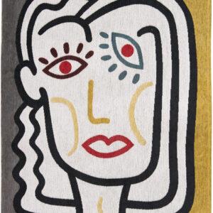 Nowoczesny Kolorowy Dywan - DORA  9143 - Rozmiar: 100x140 cm