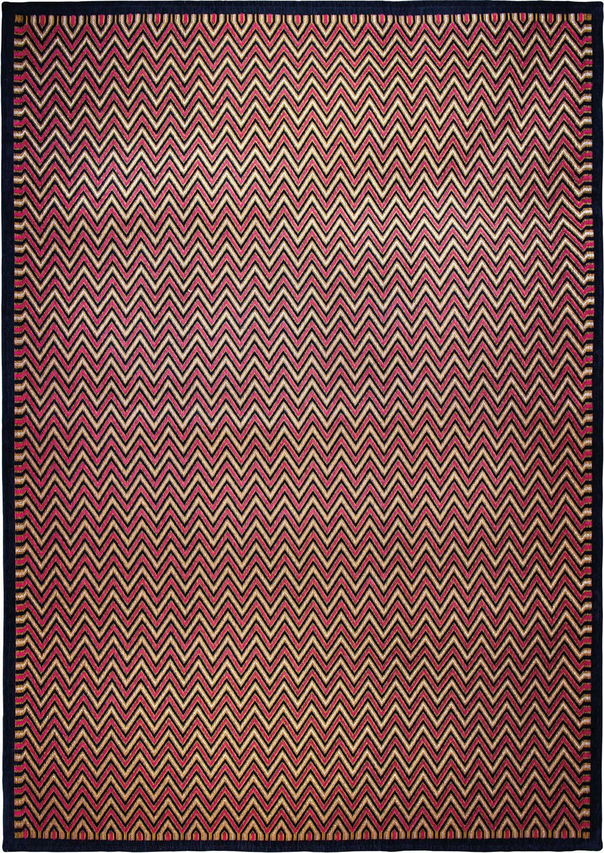 Złoto Różowy Dywan Nowoczesny - DOLOMITI BLU ROSA 9009 - Rozmiar: 170x240 cm