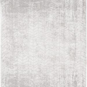Biały Dywan w Jodełkę - WHITE PLAINS 8929 - Rozmiar: 170x240 cm