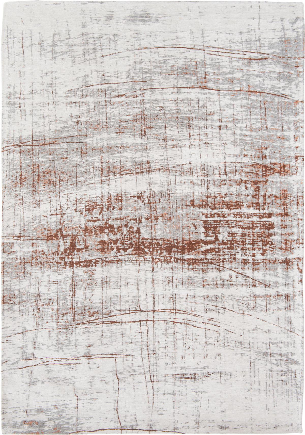 Brązowo Biały Dywan Nowoczesny - COPPERFIELD 8956 - Rozmiar: 170x240 cm