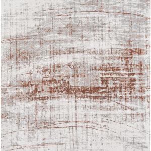 Brązowo Biały Dywan Nowoczesny - COPPERFIELD 8956 - Rozmiar: 140x200 cm