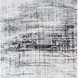 Biało Czarny Dywan Nowoczesny - METRO B&W 8926 - Rozmiar: 140x200 cm