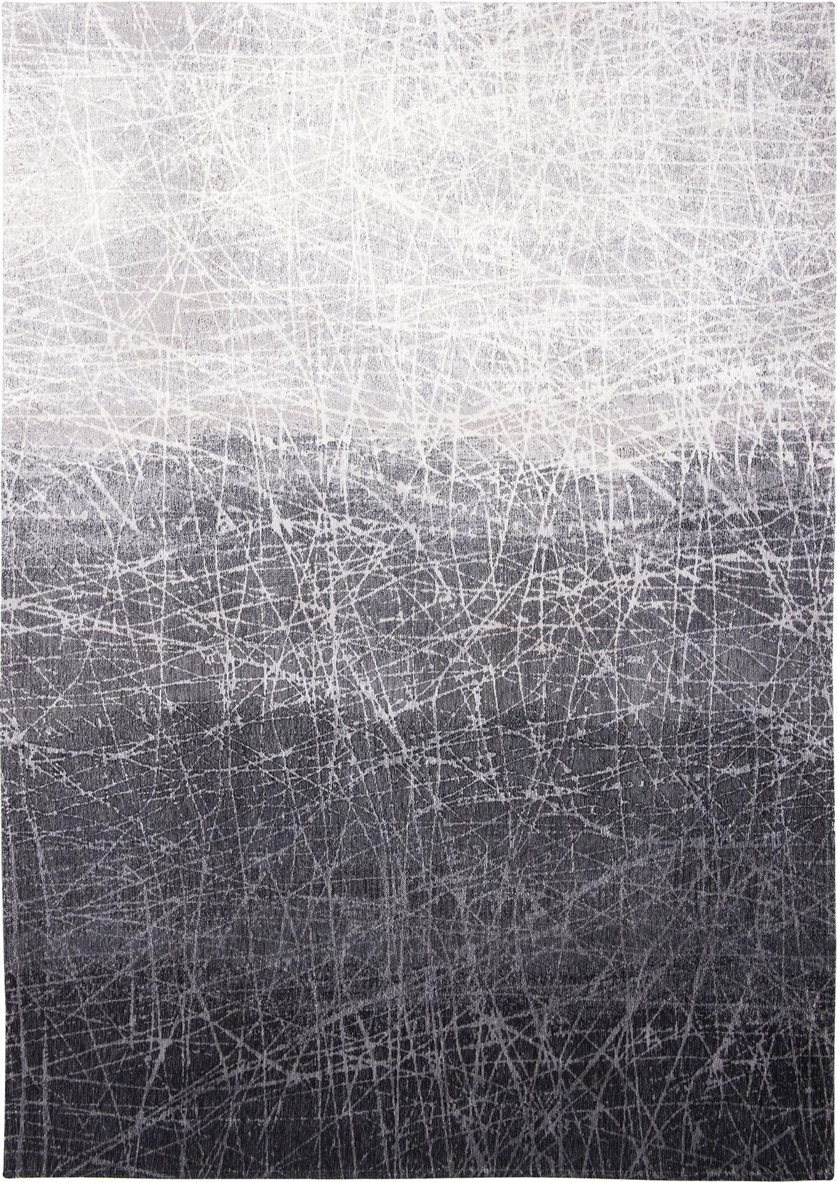 Czarny Dywan Nowoczesny - WIND CHILL GREY 8881 - Rozmiar: 140x200 cm