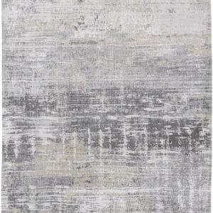 Szary Dywan Nowoczesny - CONEY GREY  8716 - Rozmiar: 80x150 cm