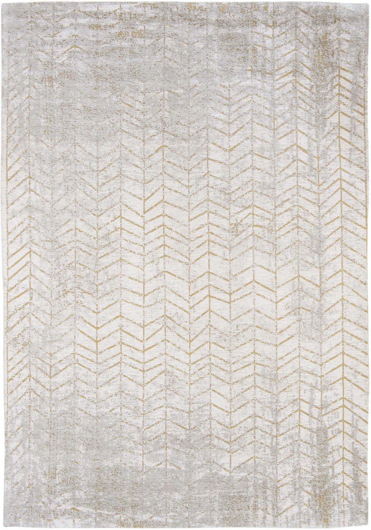 Złoto Biały Dywan w Jodełkę - CENTRAL YELLOW 8928 - Rozmiar: 140x200 cm