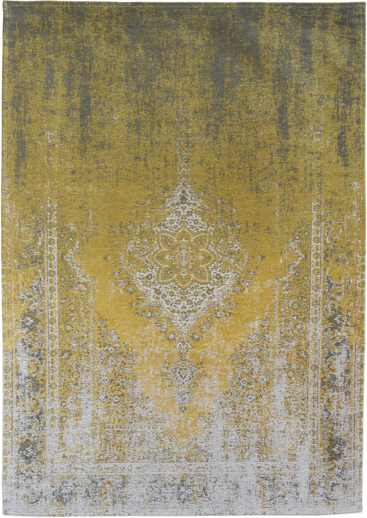 Żółty Dywan Klasyczny - YUZU CREAM 8638 - Rozmiar: 200x280 cm