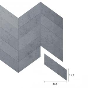 Panel betonowy 3D VHCT-PB-35 Jodełka
